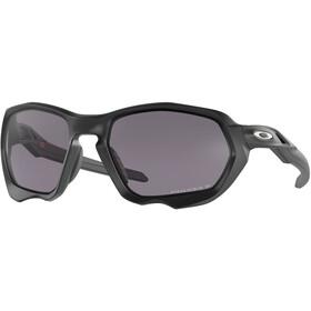 Oakley Plazma Sunglasses Men matte black/prizm grey polarized